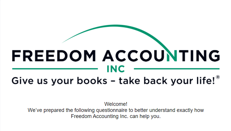 Take the Freedom Accounting Survey to find out how we can help you.